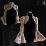 vintage lace shrug, victorian style bolero, Somnia