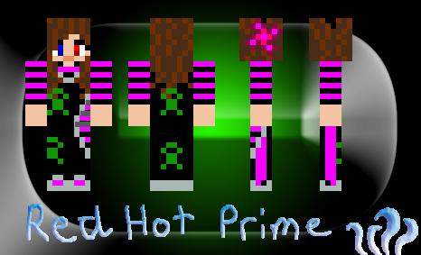 RedHot Pirme Minecraft by redhotshot