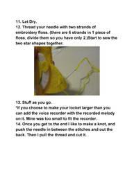 star locket tutorial part 7
