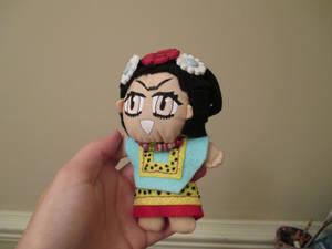 Frida Kahlo Display Plushie front
