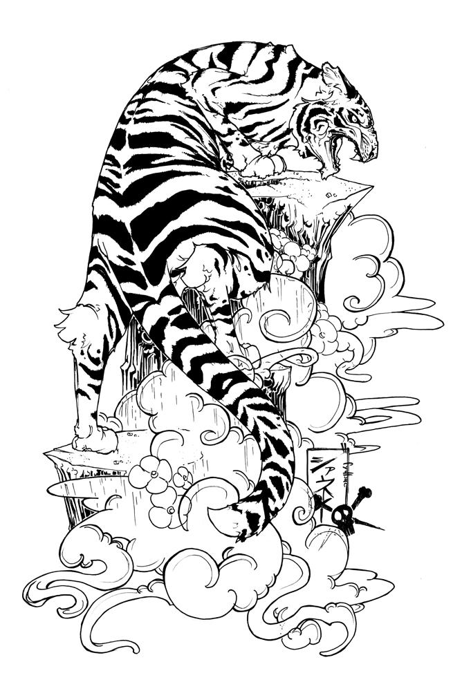 Koi fish tattoo design by Sandersk on DeviantArt