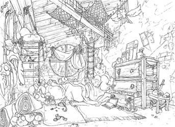 kakoil: scai's room by fydbac