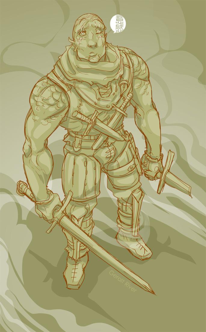 iron-sketch 019 by fydbac