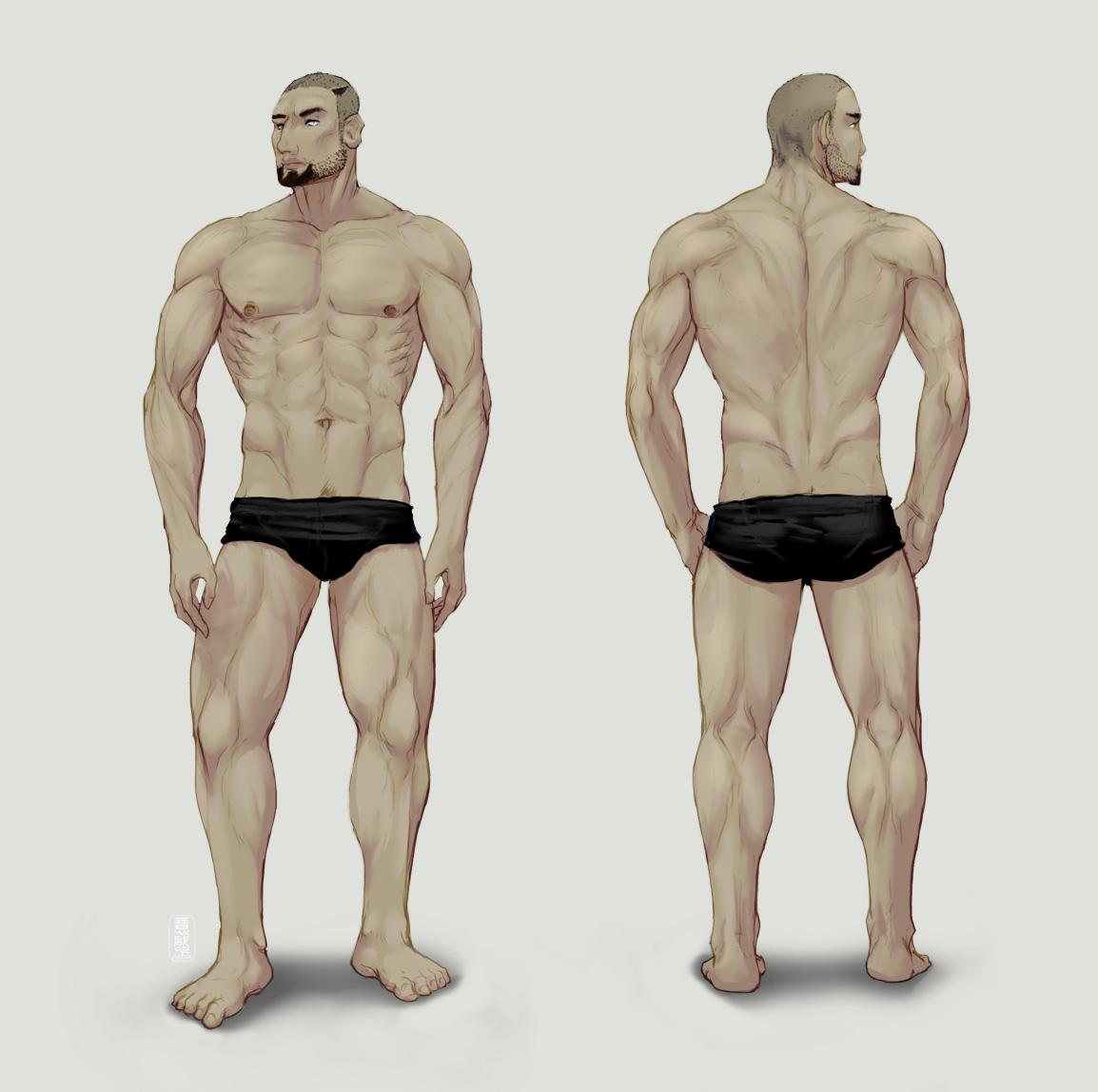 Art-test 011: Anatomy gone wrong by fydbac on DeviantArt