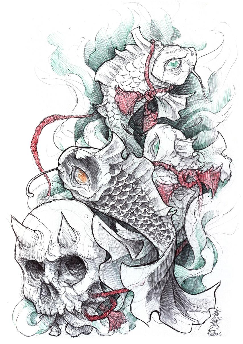 shigeki.zumi: tattoo sketchbook: 010 by fydbac