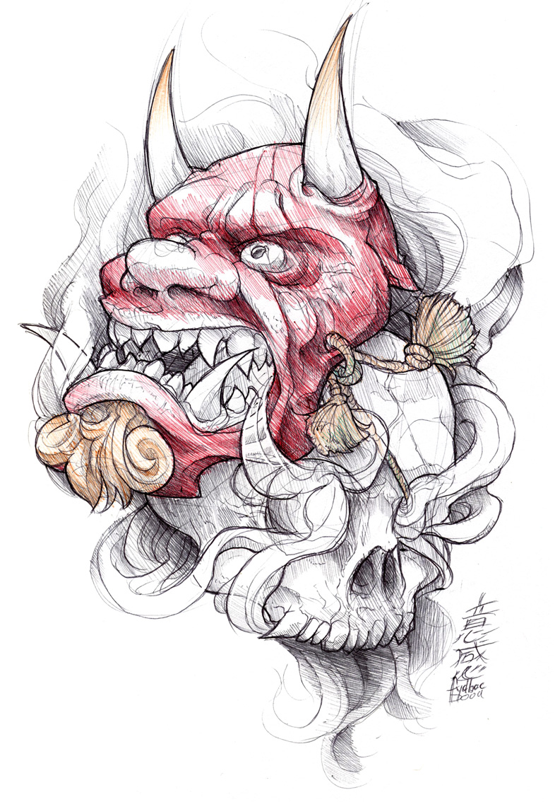 shigeki.zumi: tattoo sketchbook: 011 by fydbac