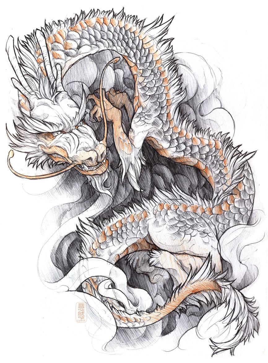 shigeki.zumi: tattoo sketchbook: 015 by fydbac
