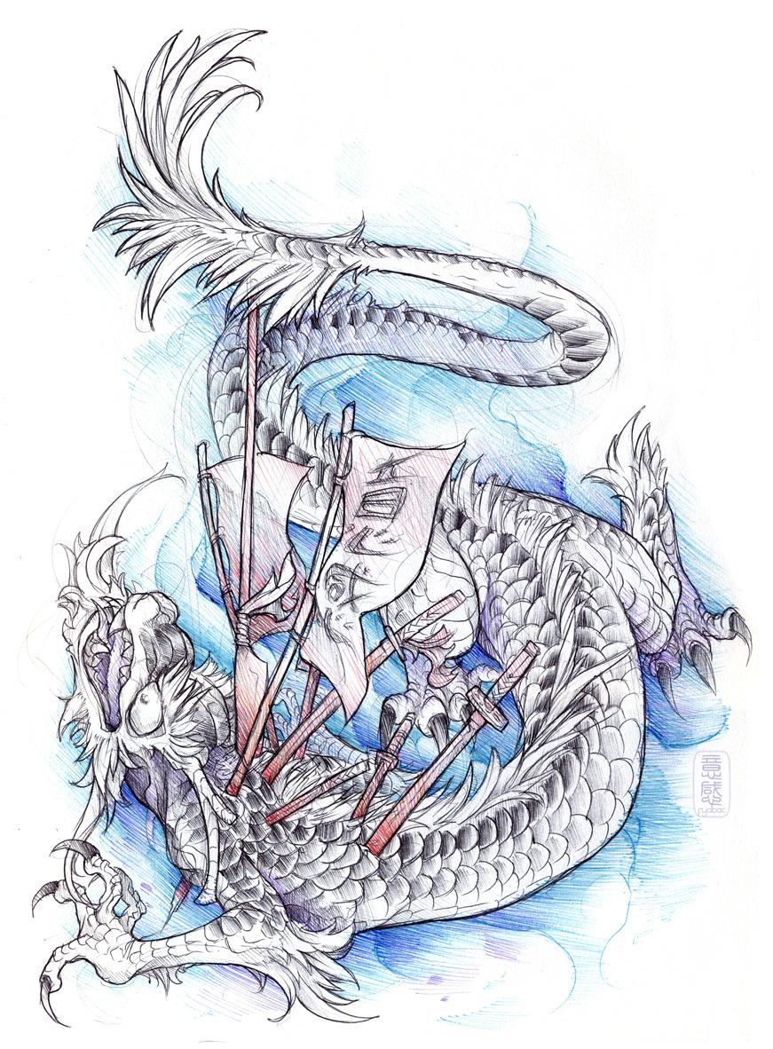 shigeki.zumi: tattoo sketchbook: 019 by fydbac