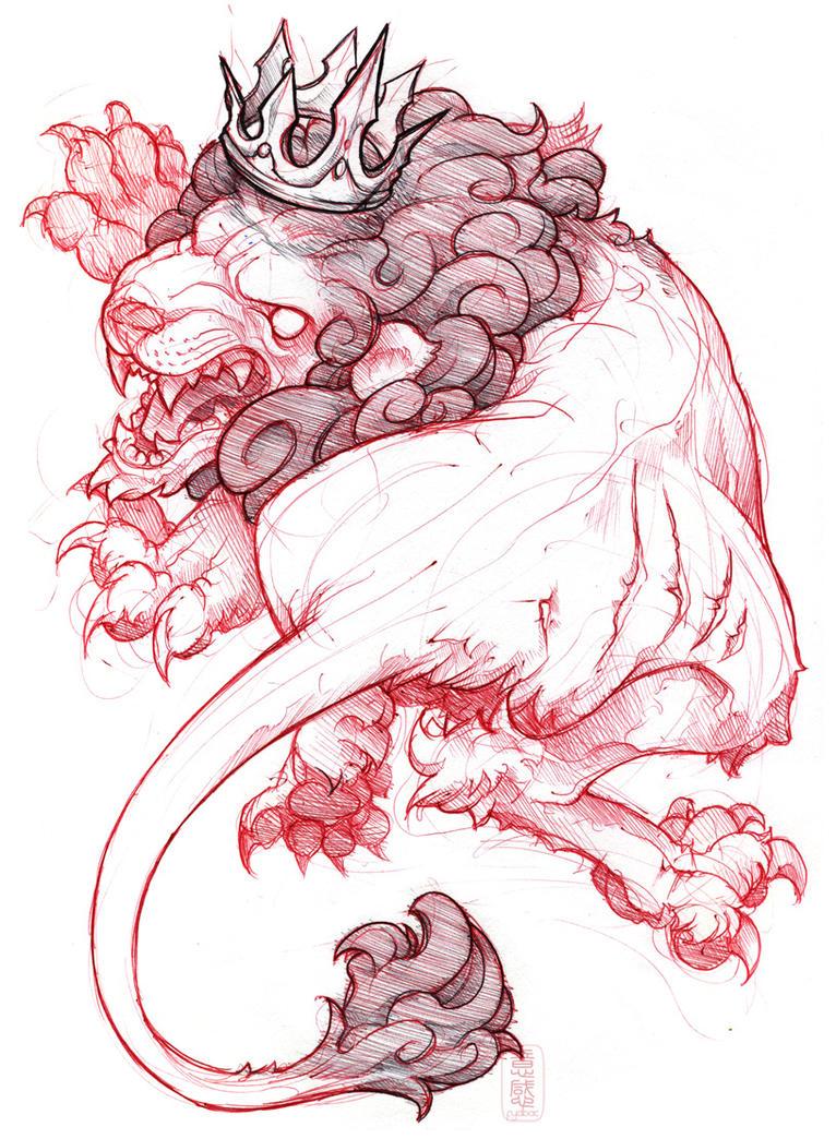 shigeki.zumi: tattoo sketchbook: 021 by fydbac