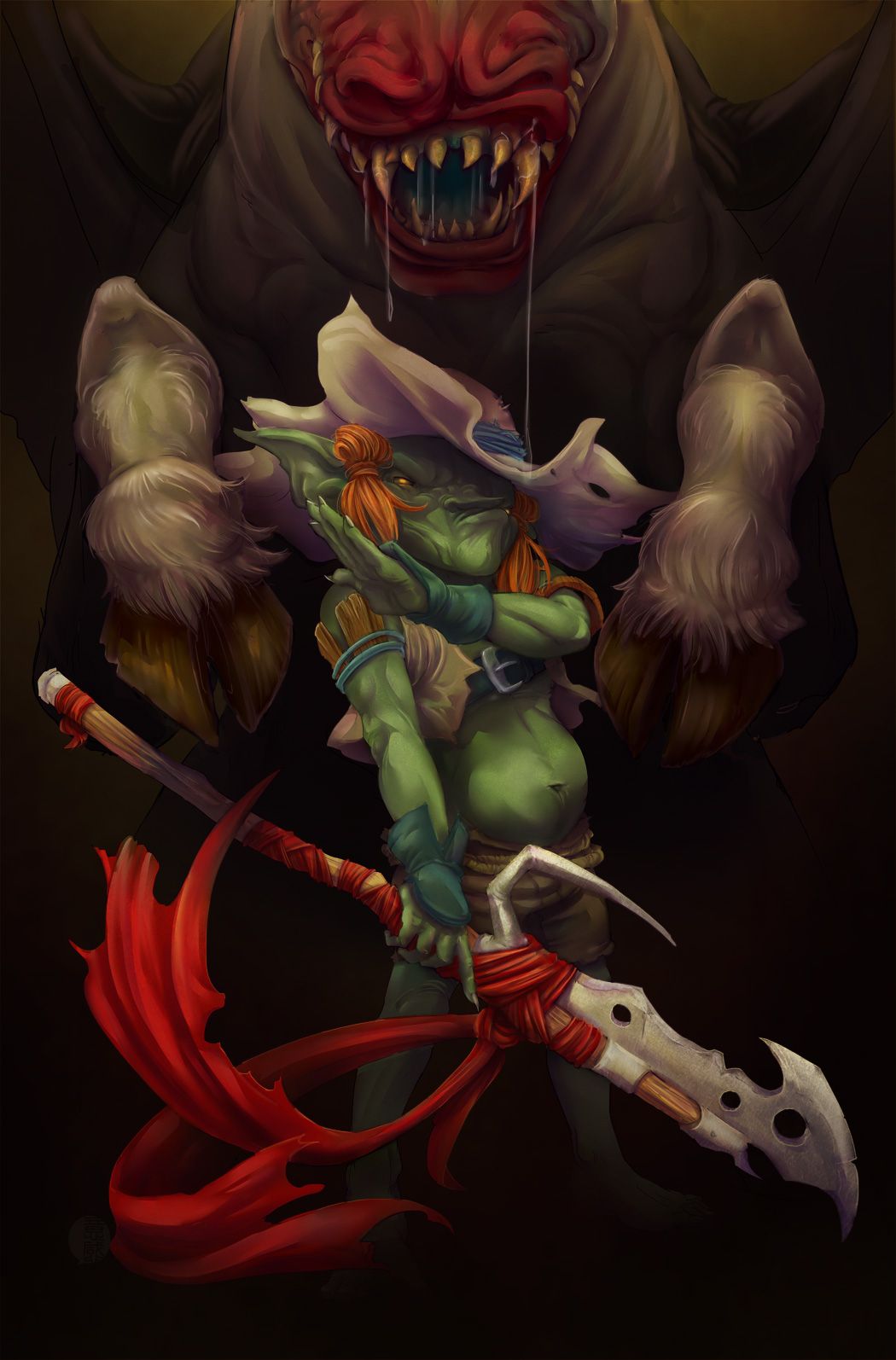 Horsechopper- Pathfinder Goblins#4 cover by fydbac on ...