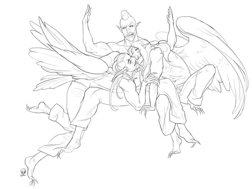 stream sketch 1711 by fydbac
