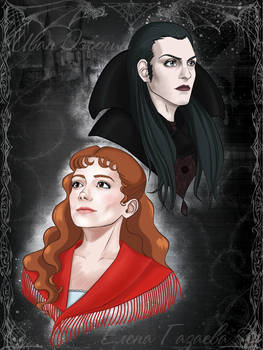Tanz der Vampire. Sarah and Krolock