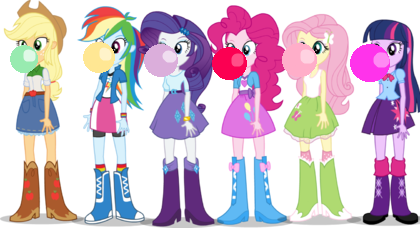 list of equestria girls characters my little pony - 1600×731
