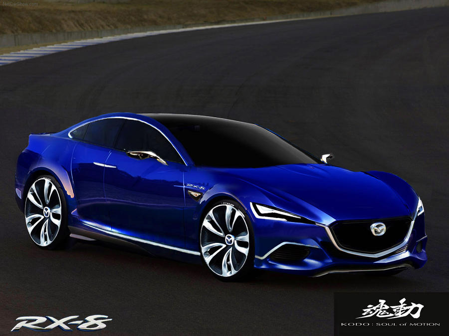 Mazda RX-8 kodo concept by jhonconnor on DeviantArt