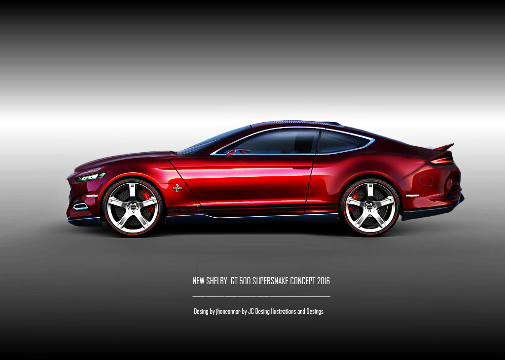 2016 mustang concept