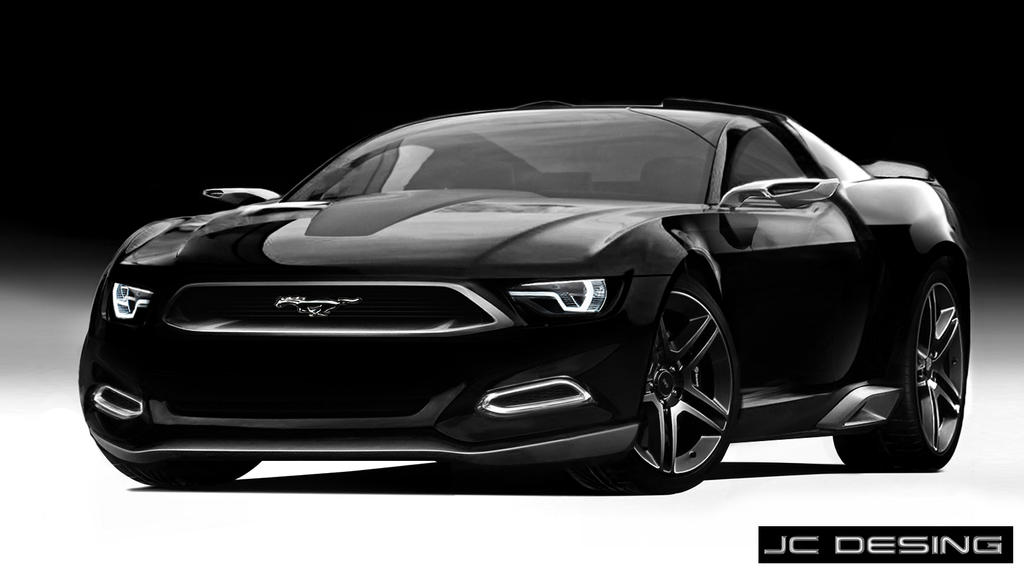 ford mustang concept by jhonconnor