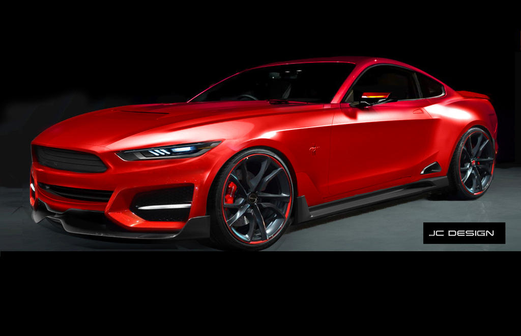 Mustang Concept Previously By Jhonconnor On Deviantart