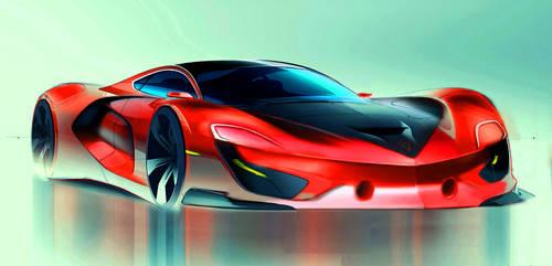 Pontiac firebird  concept 2020 sketch