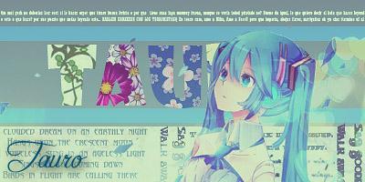 Miku Hatsune - Para Tauro by Lili-Ravenclaw