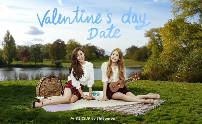 Taeny Valentine's day Date by babomoji