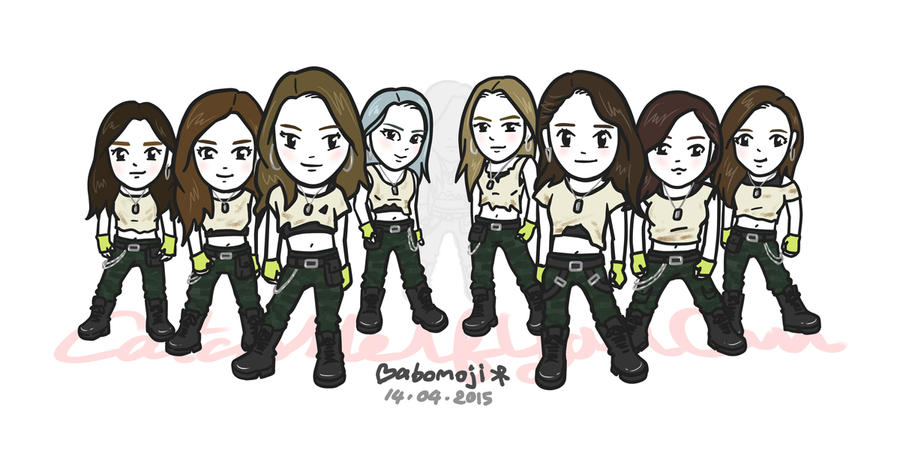 SNSD - Catch Me If You Can by babomoji
