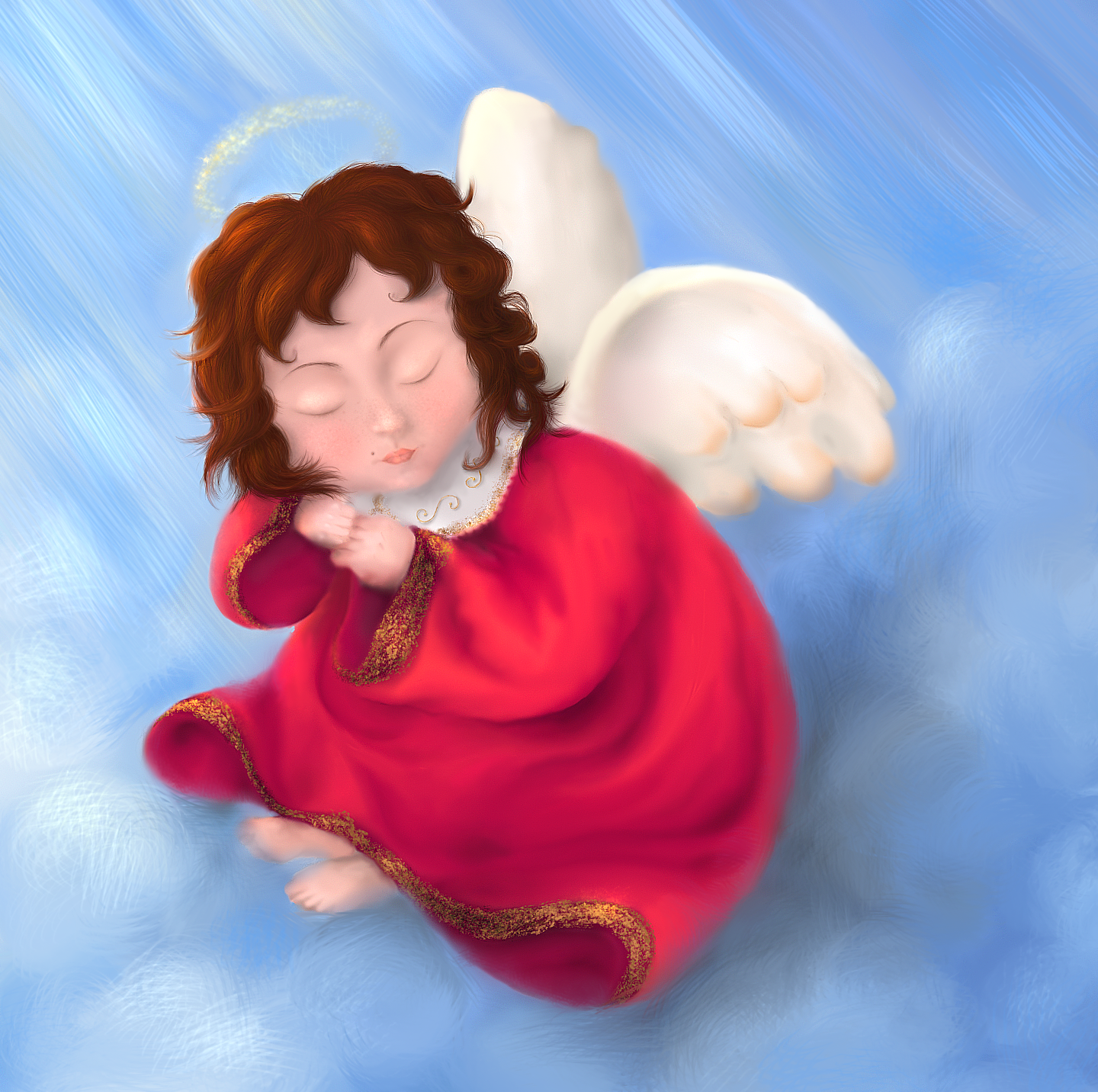 Ssh,don't wake THE ANGEL by emmagucci