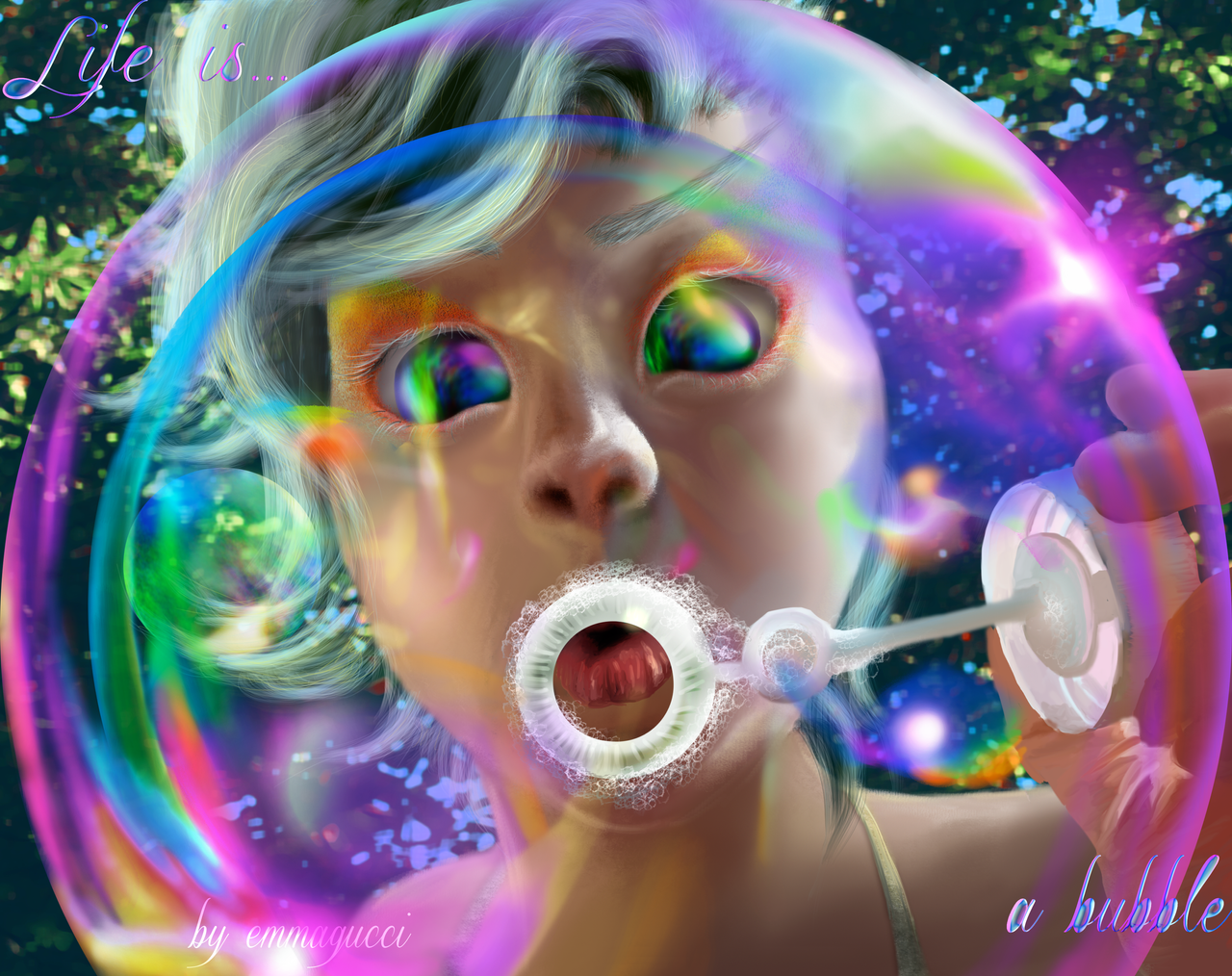 Life is ... a bubble by emmagucci