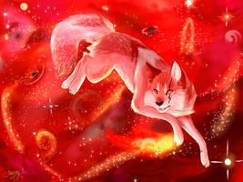 .: Red Wolf Galaxy - Star Brush by SnexMy