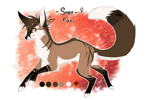 .: Character Oc Update - Snex / Feral Fox - 2017 by SnexMy