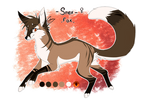 .: Character Oc Update - Snex / Feral Fox - 2017