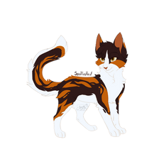 Spottedleaf - Warrior Cats by SnexMy