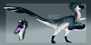 Custom Designer - Dinosaur / Utahraptor by SnexMy