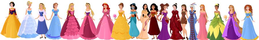 Disney Princesses- Revamped by supereilonwypevensie