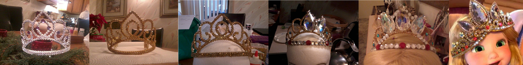 Tangled Tiara Progress Timeline by supereilonwypevensie