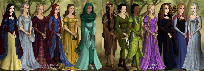 Disney Princesses [LotR/Hobbit Maker]