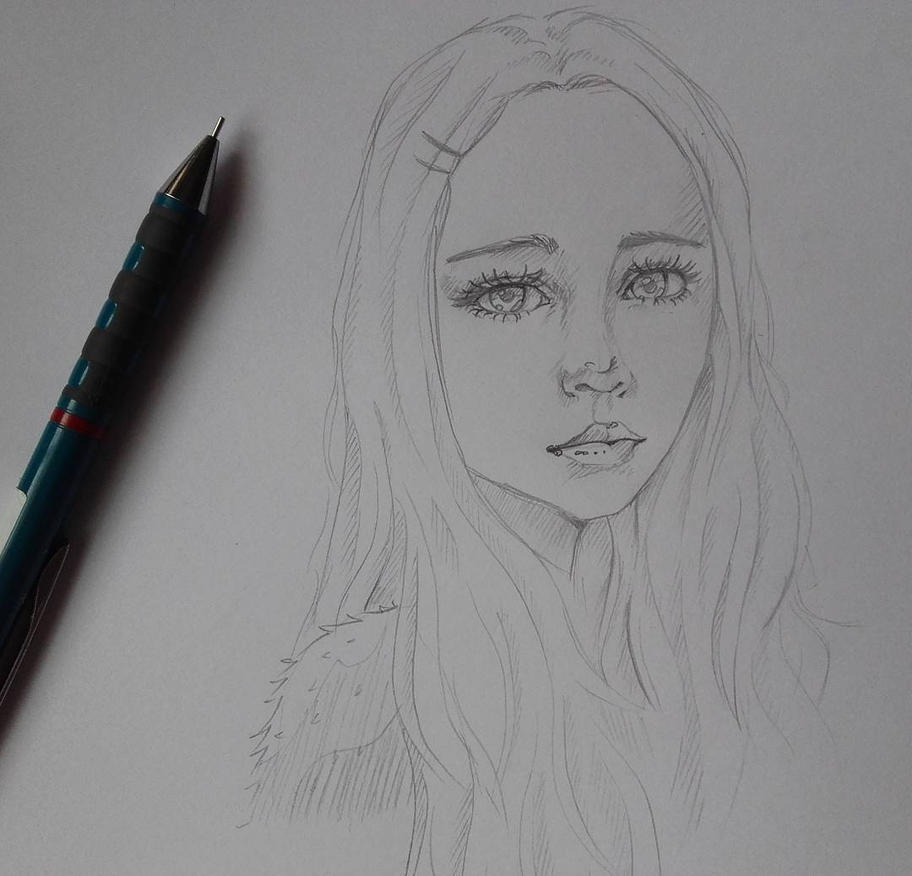 Girl by M-Marya