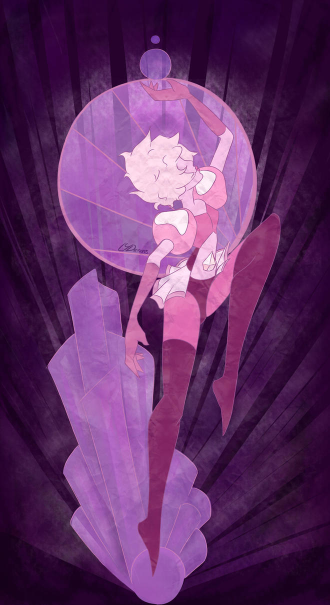 Steven universe, Here I come My version of Pink Diamond based on the reveal ''Jungle moon'' I'm sure looking forward to new episodes!