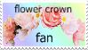 flower crown fan stamp by Spoon-Moon