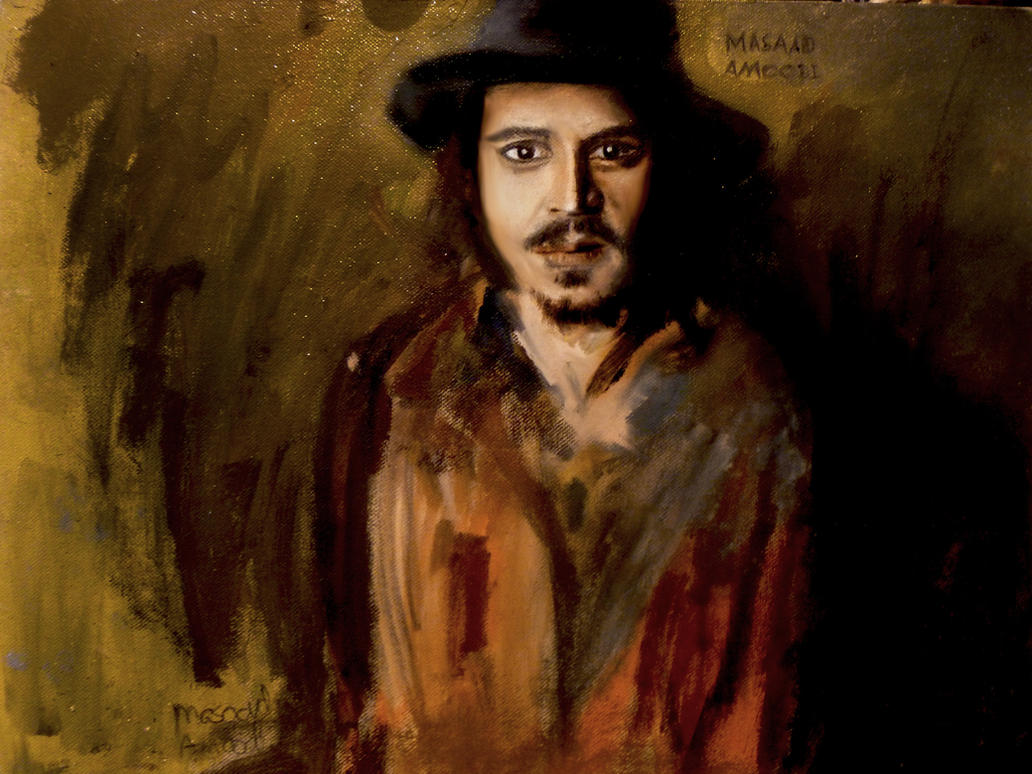 Johnny Depp by masaad