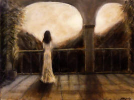Solitude Oil Painting by masaad