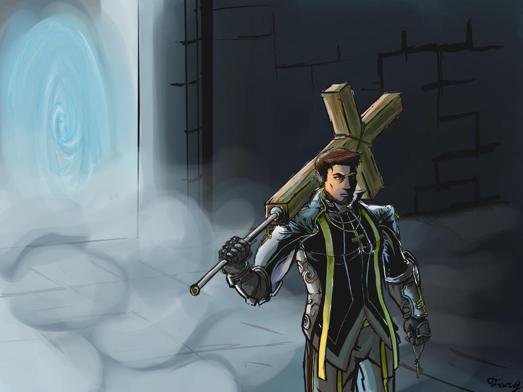 DFO Priest Loading Screen Contest by jipooki