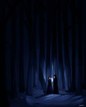 darklina in the woods