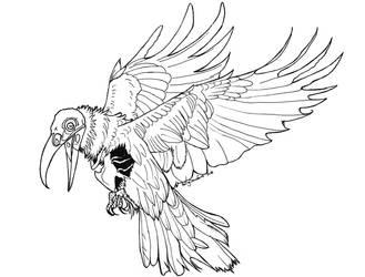 Undead Raven
