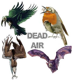 Dead Air Sticker Pack