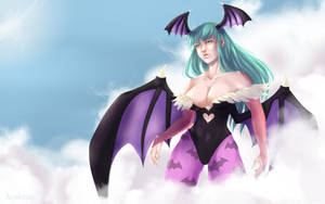[Kiriban 60,000] Morrigan Aensland by Akanetto