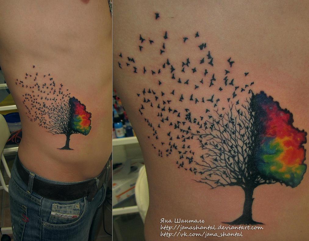 Tree Tattoos With Birds 56687 Loadtve