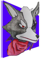 Wolf O'Donnell Bust by valkiriforce