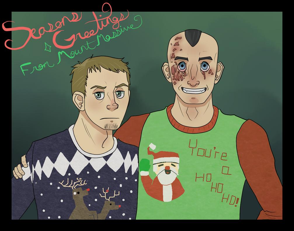 Christmas Sweaters by NinjaSniperKitty