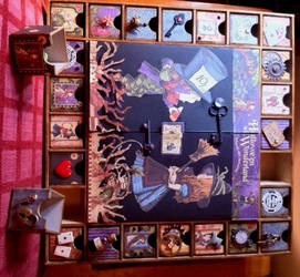 Alice in Wonderland altered art