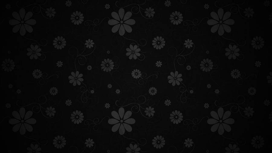 black floral wallpaper 2017 - Grasscloth Wallpaper